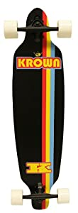Krown Elite Black Stripe Elite Complete Longboard, 9x36-Inch from KROWN
