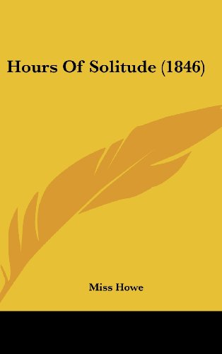 Hours Of Solitude (1846)