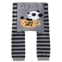 "Bébé / Enfants Leggings, Pantalon - ""Panda - I like milk"" 12-24 mois + LIBRE BAVOIR"