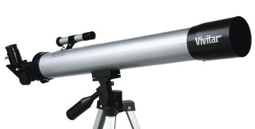 Imagen de Vivitar VIV-TEL-50600 60x/120x Microscopio Refractor / telescopio con trípode