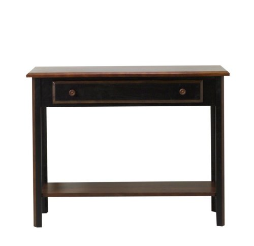 Cheap Entryway Console Sofa Table in Two Tone Black Rubbed Finish (VF_AZ00-52457×26166)