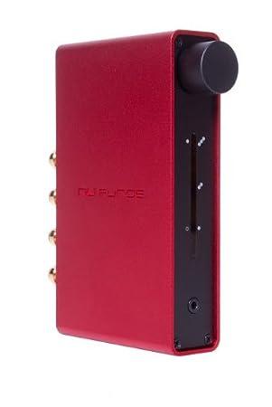 NuForce Dia R Amplificateur numérique coaxiale Sortie caisson pour TV 2 x 24 W Rouge