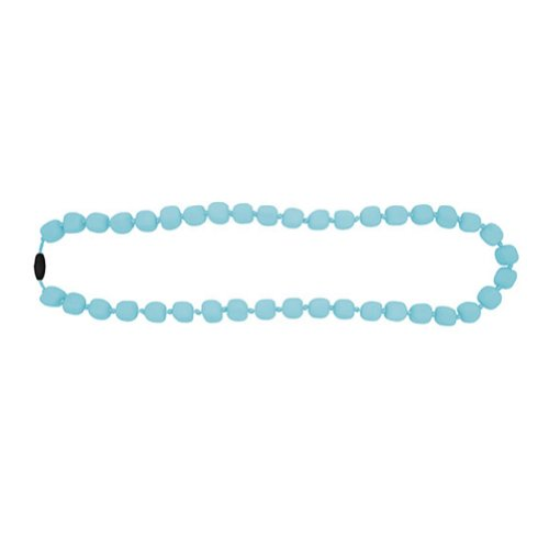 Jellystone Chewable Pea Nacklace. Aqua Tiffany