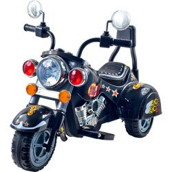 Harley-style Battery Operated Motorcycle Ride-on , 38 in. L x 19 in. W x 30 in. H (80-1616)