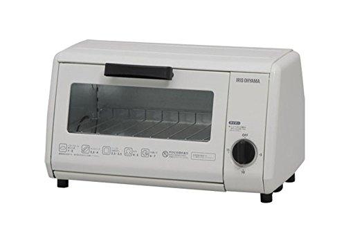 アイリスオーヤマ オーブントースター  ホワイト OTR-86