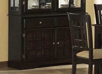 Cheap Baldwin Buffet with 2 Doors in Deep Cappuccino by Coaster (101824B)