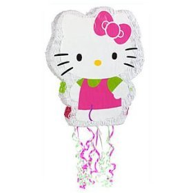 Hello Kitty Pull String Pinata
