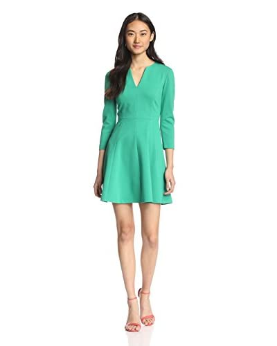4.collective Women's Ponte Splitneck Dress