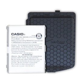 OEM Verizon Casio G'zone Ravine C751 Extended Battery and Door