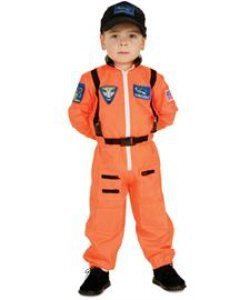 Astronaut Jumpsuit Child Halloween Costume Size Toddler 2T-4T