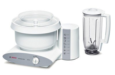 Bosch Universal Plus Mixer with Blender; includes Cookie Paddles with Metal Whip Driver