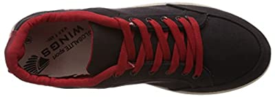 Globalite Men's Casual Shoes Stumble Black Red GSC0311