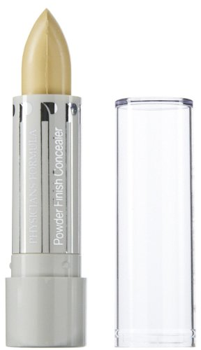 Physicians Formula Powder Finish Concealer Stick SPF 15, Yellow