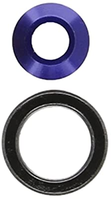Traxxas 6893X Blue Aluminum Bearing Slash Adapter, 4 x 4