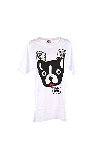 Follow Us FUD889 T-shirt Donna Bianco L