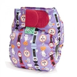 TeenyFit Pocket Diaper - Hickory Dickory Dock - 1