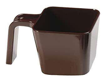 "Carlisle 49116-101 Portion Cup, 16 oz. Capacity, Brown, 3.29"" Height (Case of 6)"