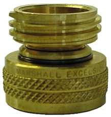 Marshall Excelsior Company 108287 Swivel Fill Check Adapter 1-.25Acme