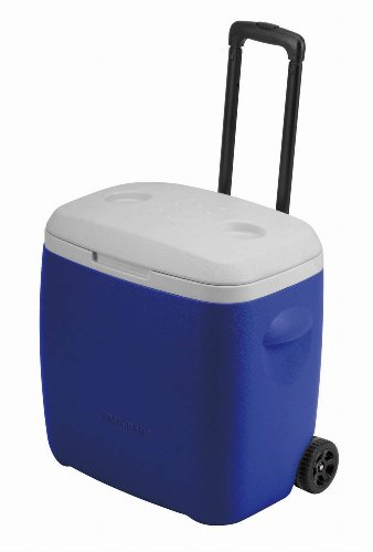 Captain stag (CAPTAIN STAG) regard wheel cooler 28L blue M-5281