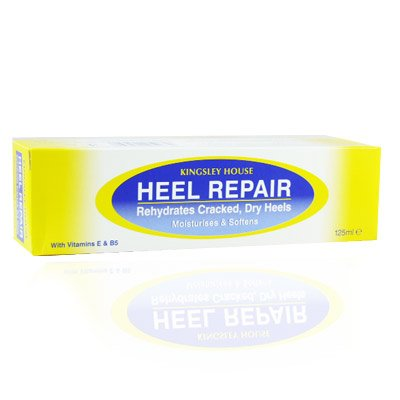 Kingsley House Heel Repair Cream For Cracked Heel With Vitamin and Glycerine Complex 125ml