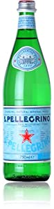 San Pellegrino, Sparking Natural Mineral Water, 750 ML / 15PK Glass Bottles