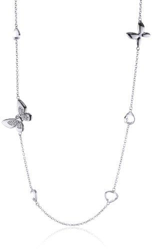 Morellato SOX01 - Collana da donna con cristallo, acciaio inossidabile, 85 cm
