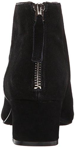 Nine West Women's Anura Suede Boot, Black, 9 M US