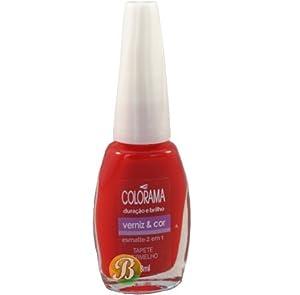 .com : Colorama Nail Polish (Tapete Vermelho - Verniz e Cor) : Beauty