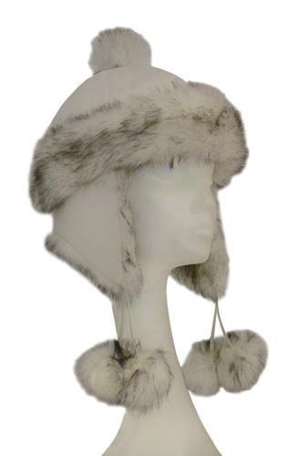 SnapMa Damen Mütze - Pilotenmütze - Polarmütze