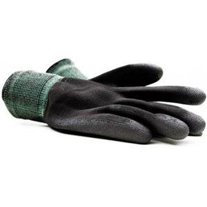 Montana Black Nylon Gloves X-Large