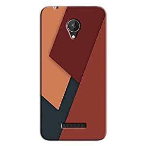 DIGITAL PATTERN 61 BACK COVER FOR MICROMAX CANVAS SPARK