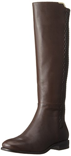 Cole Haan Women's Rockland Boot Riding Boot, Chestnut Leather, 7.5 B US