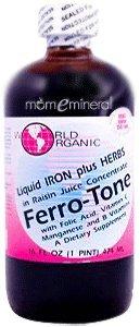 Ferro-Tone, 16 fl oz (474 ml) by World Organic