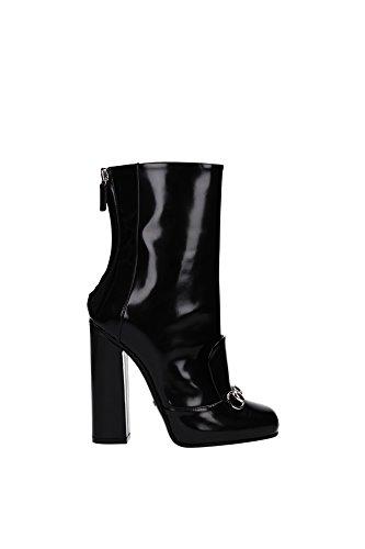 363803CLG001000-Gucci-Chaussure-mi-montantes-Femme-Cuir-Noir