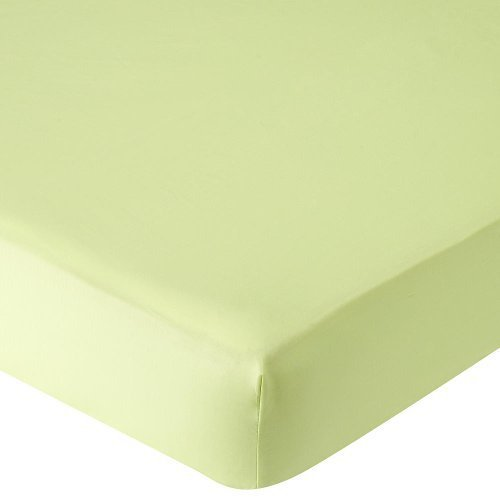 Babies R Us Percale Crib Sheet - Lime