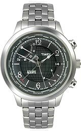 Timex World Time Charcoal Dial Men's watch #T2N610