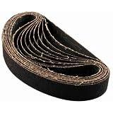 Makita 742303-3 1-1/8-Inch x 21-Inch Abrasive Sanding Belts - 80 Grit (10pk)