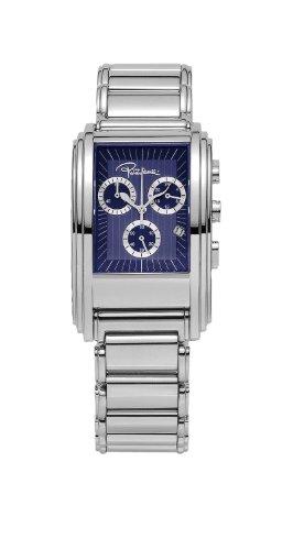 Roberto Cavalli 'Eson' 7253 - Reloj de caballero de cuarzo, correa de acero inoxidable color plata