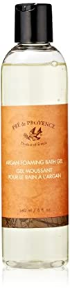 Pre De Provence Argan Foaming Bath Gel 8 Fluid Ounce