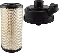 Baldwin Heavy Duty RS5387 KIT Air Filter,5 x 9-29/32 in.