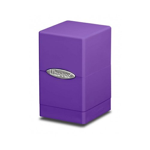 Ultra Pro Purple Satin Tower Deck Boxes