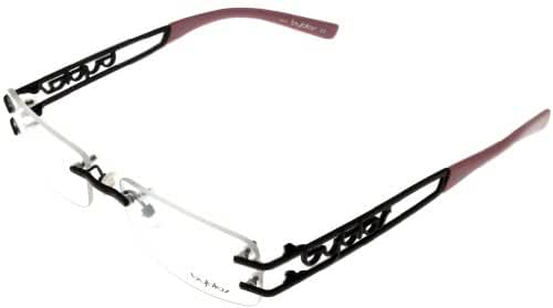 Amazon.com: Byblos Eyeglasses Womens BY 03104 Pink Rimless