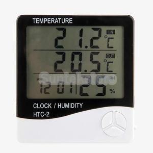 LCD-Digital-Thermometer-Humidity-Meter-Room-Car-Temperature-Hygrometer-Clock