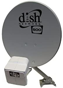 DISH NETWORK D500 WITH DP LNB