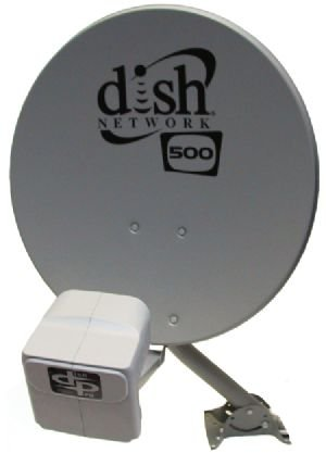 New DISH Network Satellite 500 w/ DPP Twin Pro Plus LNB