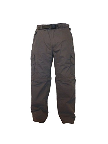 BC Clothing Men's Convertible Cargo Hiking Pants Shorts (XXLX32, ARMY GREEN) (Bc Clothing compare prices)
