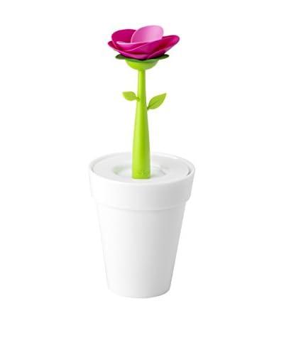 Vigar kan Flower Shop White