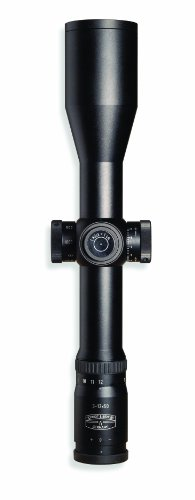 Schmidt & Bender Police Marksman Rifle Scope with 3-12x50/Parallax Single Turn CM P3-Reticle