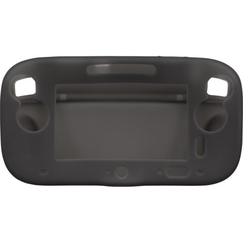 CYBER・シリコンジャケット (Wii U用) クリアブラック