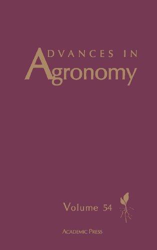 Advances in Agronomy, Volume 54